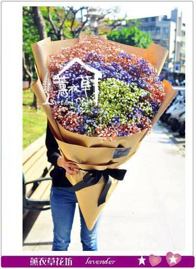 風靡韓國的超大花束