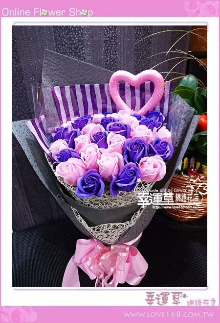 香氛玫瑰花束K0413