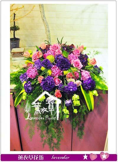 講台花設計106042801