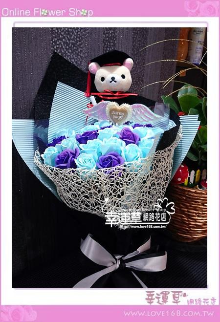 香氛玫瑰花束K0435