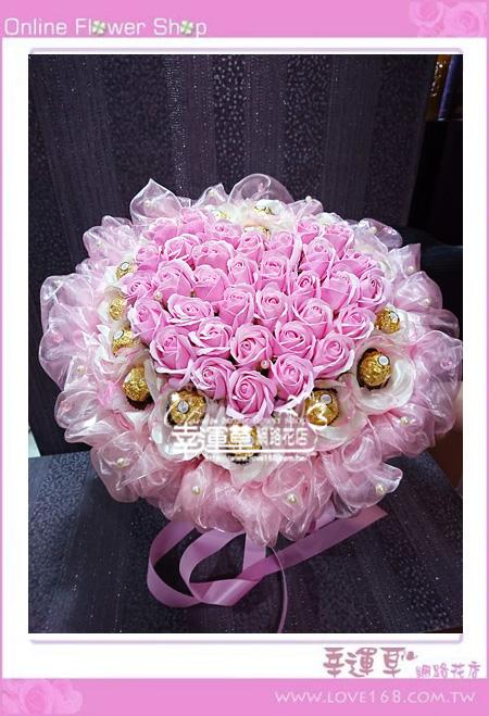 香氛玫瑰花束K0401