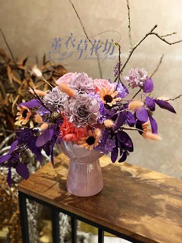 乾燥花設計107011311
