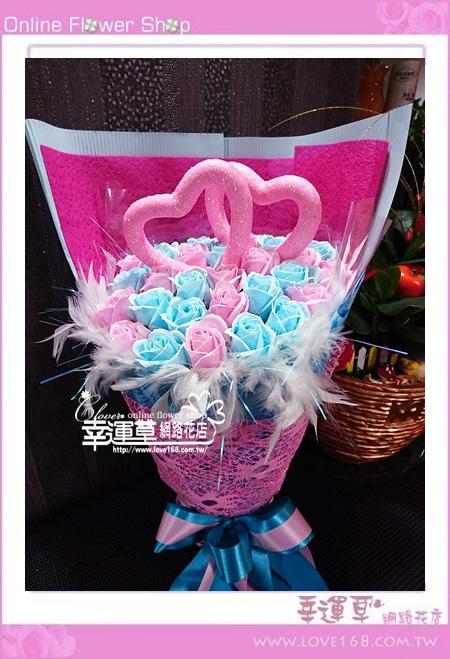 香氛玫瑰花束K0415
