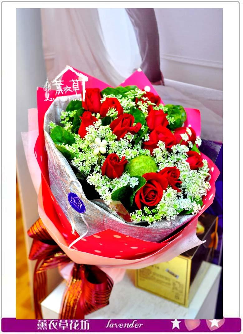 玫瑰花束~全省免運a012621