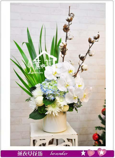 B112609 盆花設計