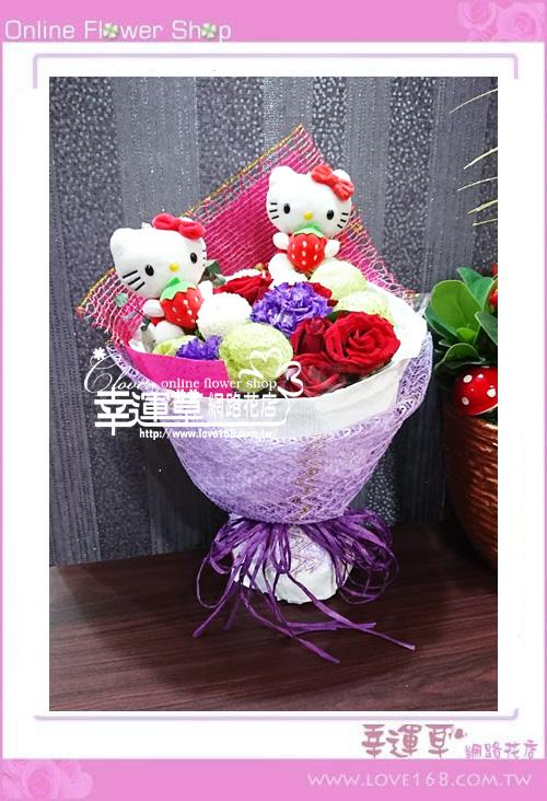 玫瑰花束A0322