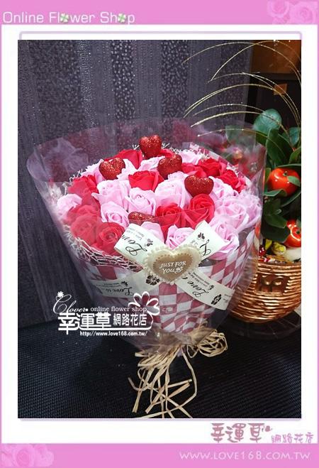 香氛玫瑰花束K0402