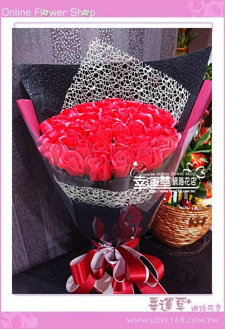 香氛玫瑰花束K0409