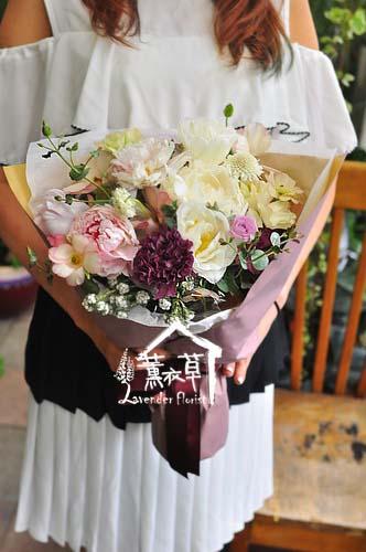典雅歐式花束107042108