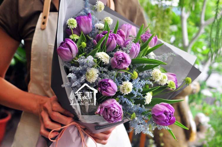 107060216紫色鬱金香