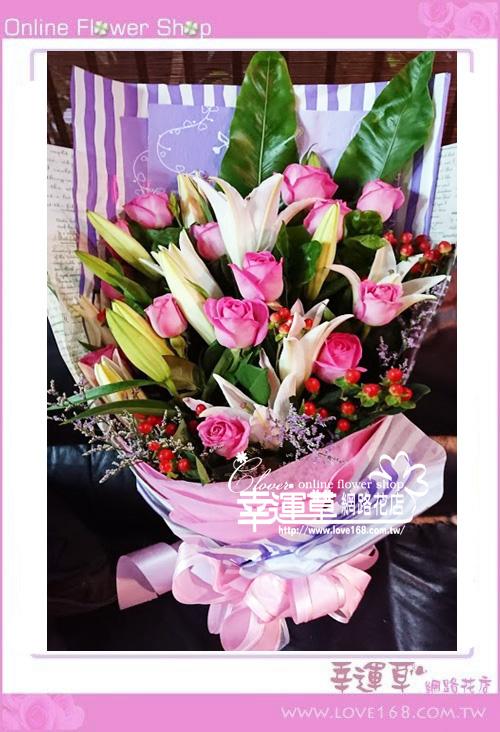 優質花束A0302