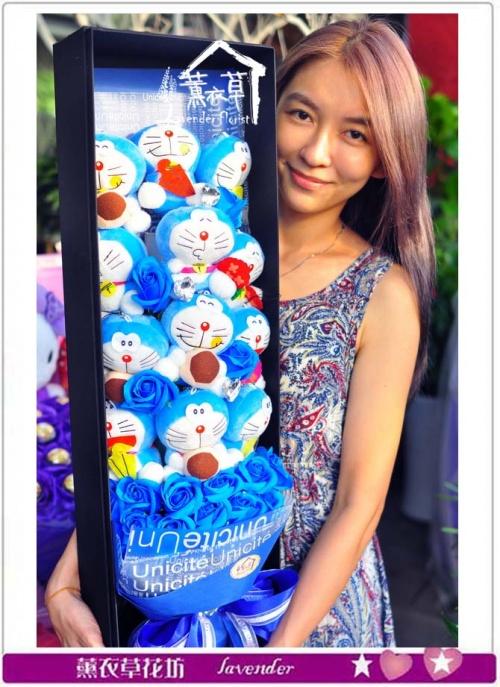 小叮噹歐式花盒設計b080708