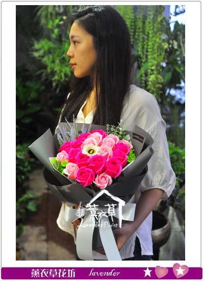 香氛玫瑰20朵 10707270