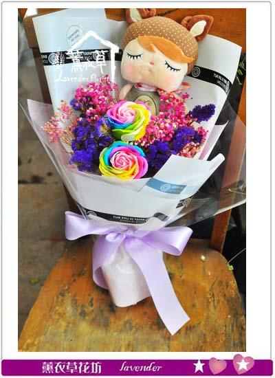 玩偶&乾燥花設計107060905