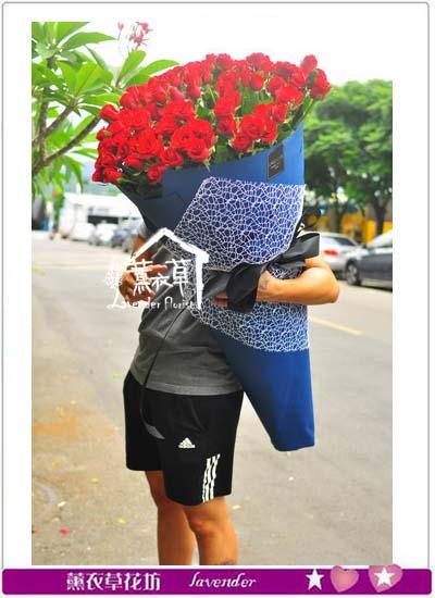 大型花束-99朵紅玫瑰花束 107070410