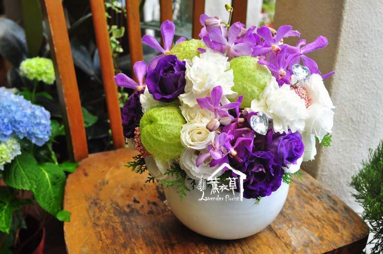 小品盆花b071615