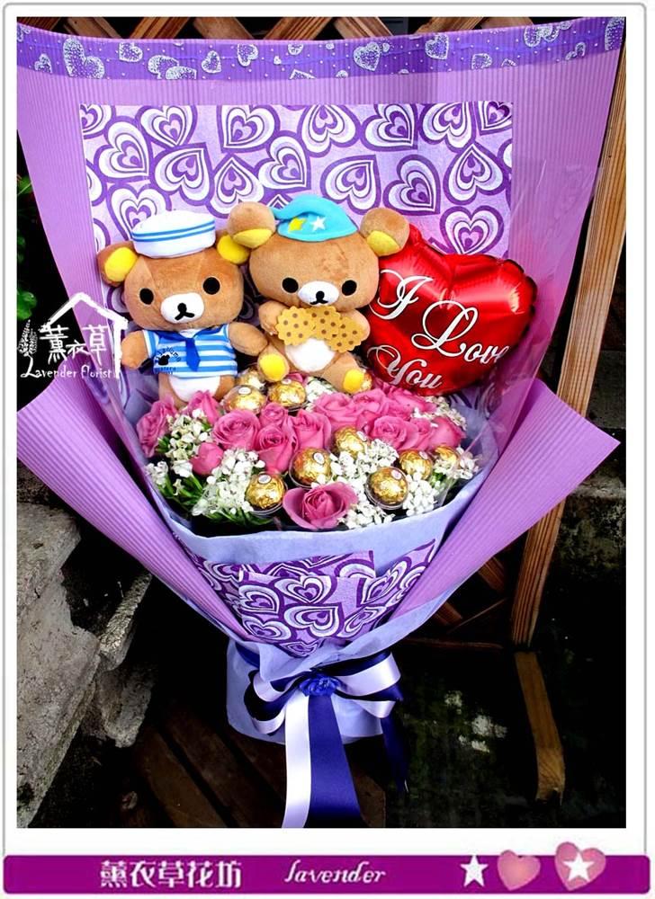 拉拉熊&紫玫瑰c060108