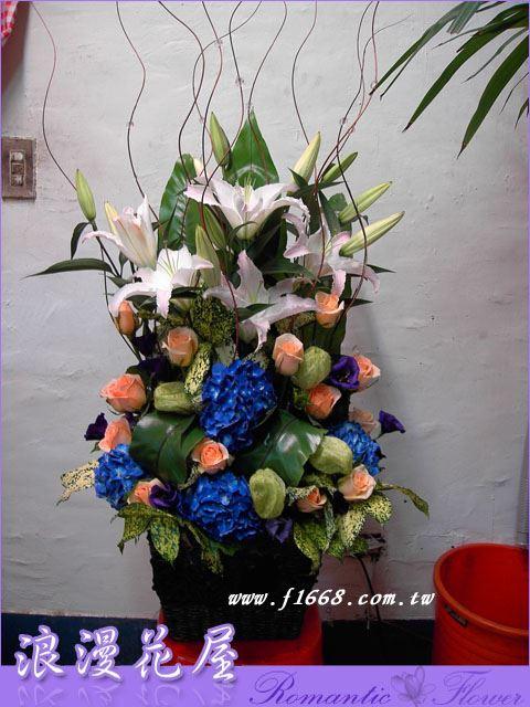 F10豪華盆花
