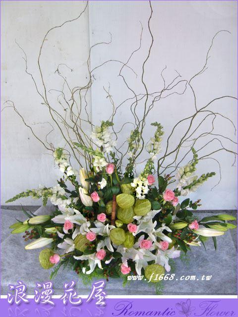 F23大型盆花
