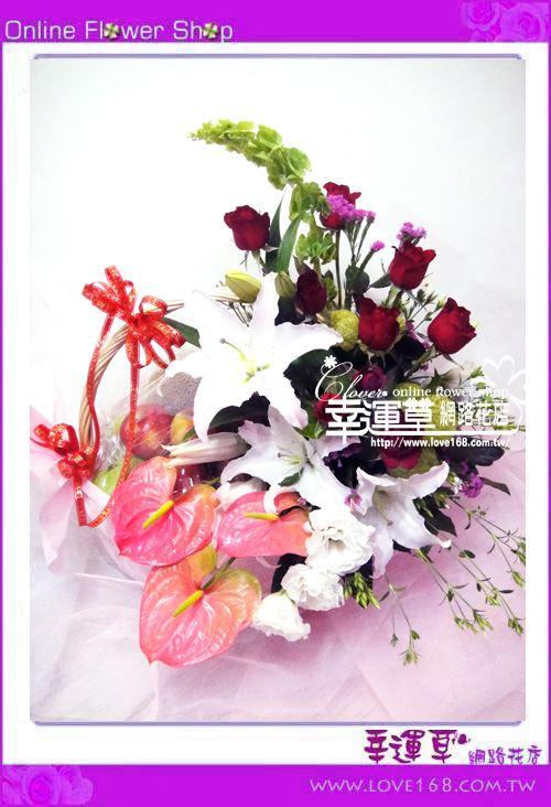I003水果禮籃花禮
