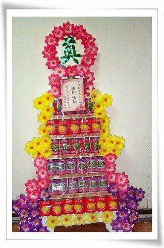 K02*7層罐頭塔*什錦罐頭