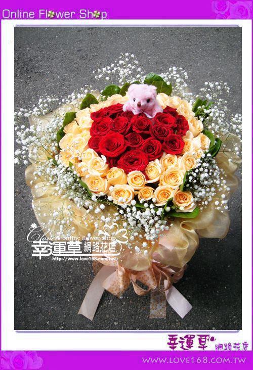 A119*優質花束60