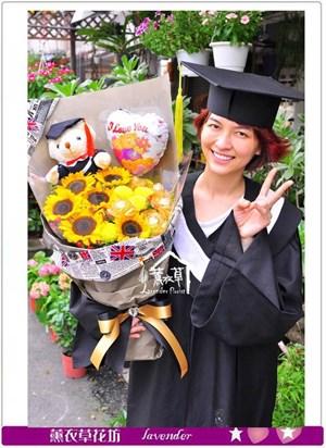 畢業花束c052806