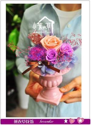 恆星花/不凋花/永生花-小品設計 107041601