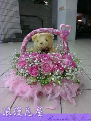 可愛小盆花 F46