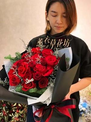 永生玫瑰花束/不凋花/永生花/恆星花/107121709