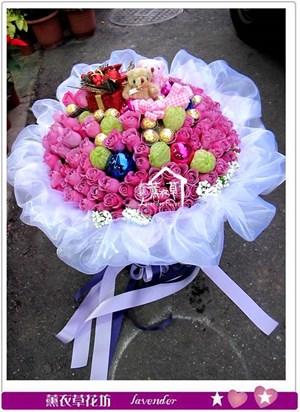 紫玫瑰101朵b121210