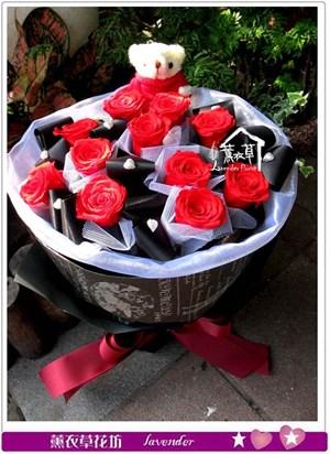 紅玫瑰限定款~不凋花新登場bb112002