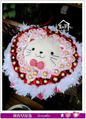 貓咪花束c071028-缺貨