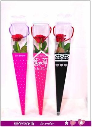 aa2611玫瑰單朵花盒~須搭配主商品