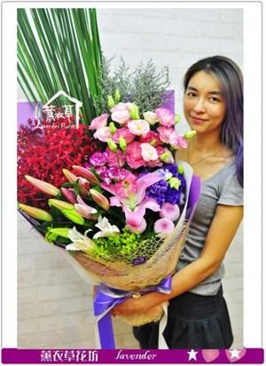 歐式花束設計b052705