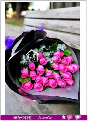 紫玫瑰花束c121717