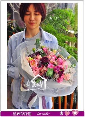 歐式花束設計 107050307