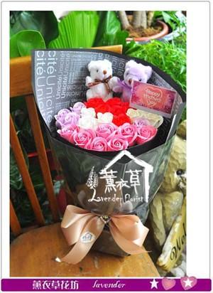 香氛玫瑰花束 106050808