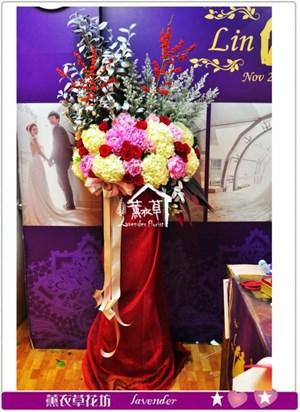 牡丹花柱設計A121406