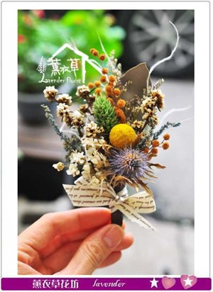 胸花~乾燥花系列 107061405