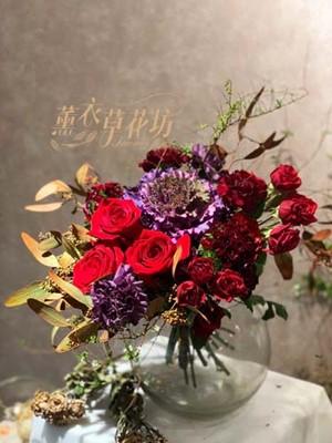 玫瑰&玻璃缸107120610