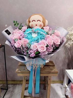 玩偶&玫瑰花設計 108030610