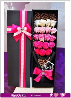 香氛玫瑰花盒~精品a122211