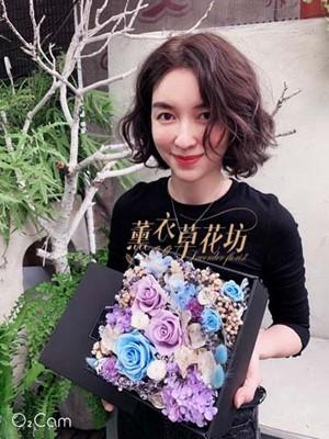不凋花/永生花/恆星花/花盒108010501