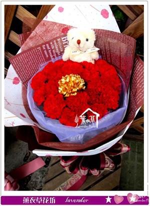 康乃馨花束c050409