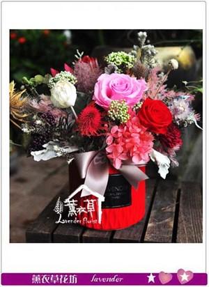 不凋花/乾燥花/恆星花小品盆花設計 107073007