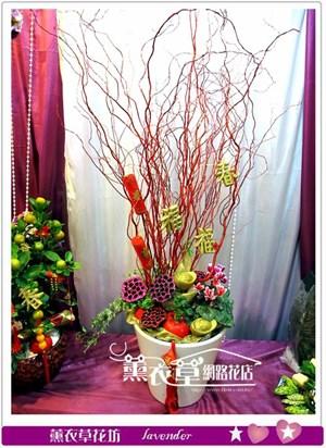 新年盆栽設計y33869
