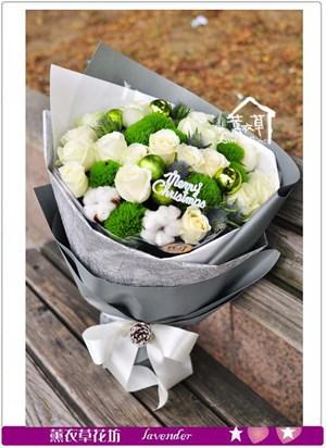 白玫瑰花束A120202