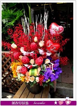 豪華盆花設計c080907