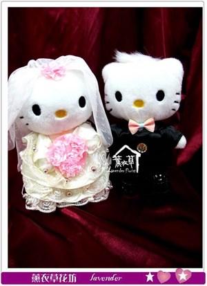 凱蒂貓~結婚款bb102403